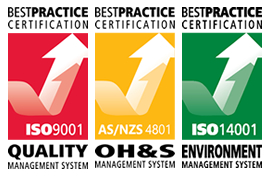 ISO Accredited & Certified