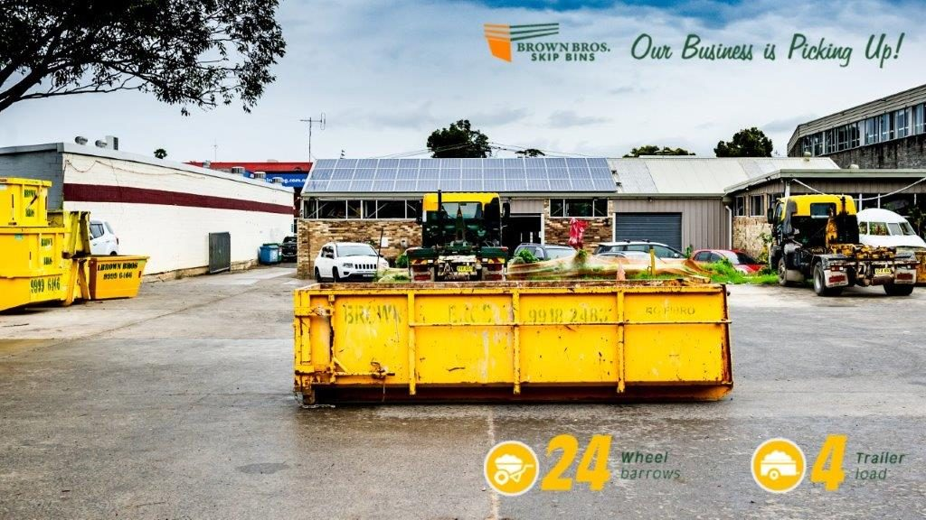 4m3 Marrel Skip Bin Hire Sydney