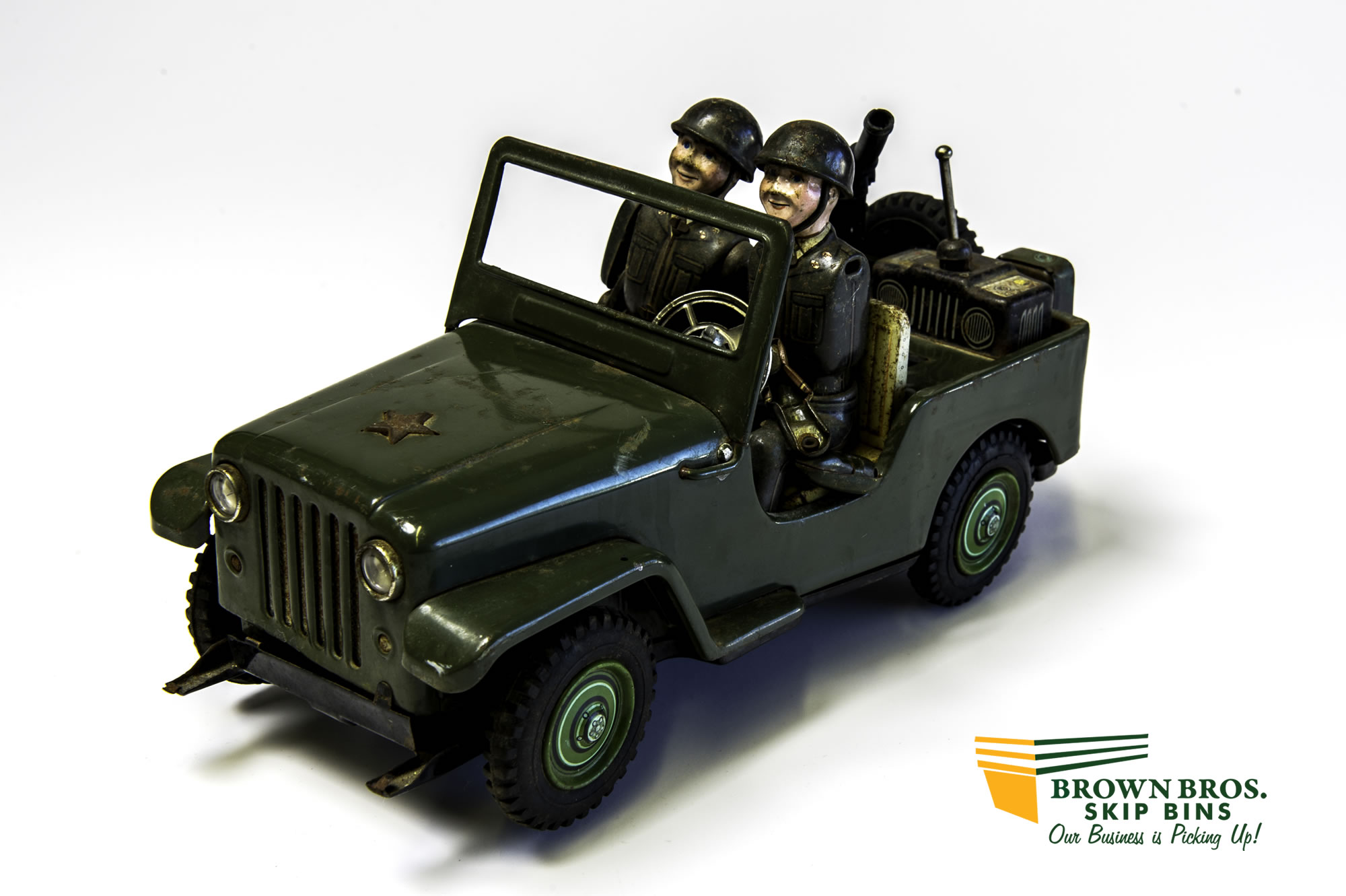 Japanese Army Command Jeep