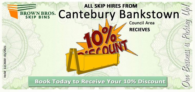 Discount Skip Bin Hire Canterbury Bankstown Skip Bin Hire