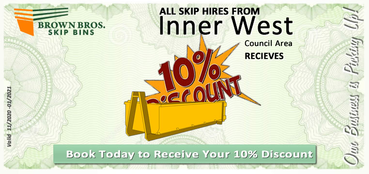 Inner West Skip Bin Hire Discount