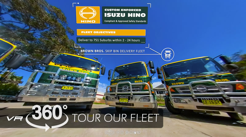 interactive tour of our fleet