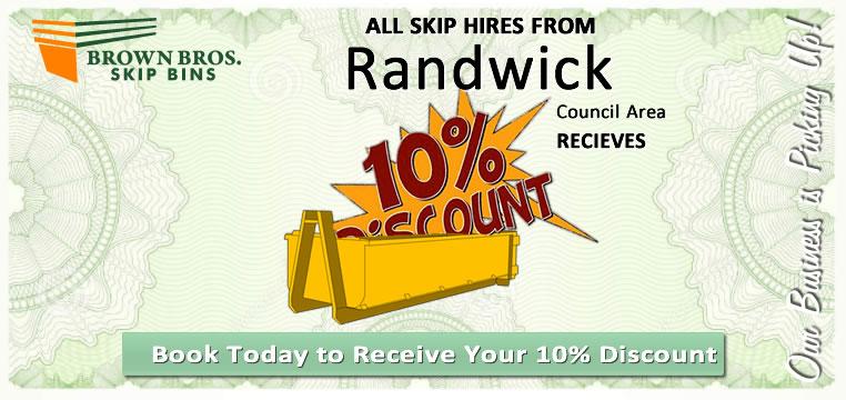 Randwick Skip Bin Hire Discount