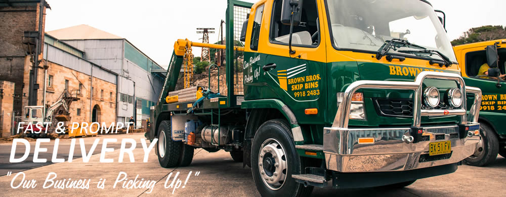 Skip Bin Hire Services by Brown Bros. Skip Bins