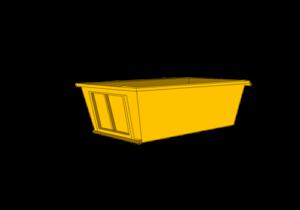 skip bin household waste