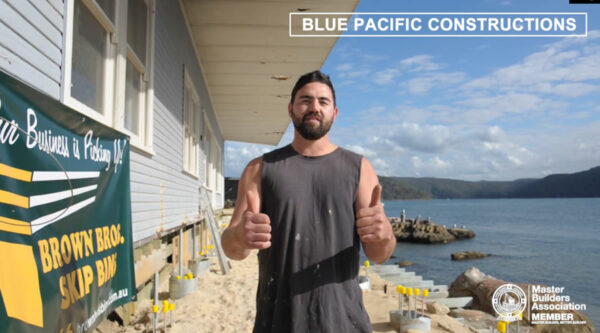 Blue Pacific Constructions Testimonial