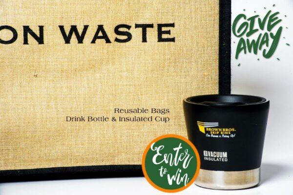 War on Waste reusable shopping bag